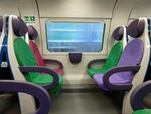 Красочные места поезда Стоковое фото RF
