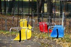 Красочные места carousel стоковое фото rf
