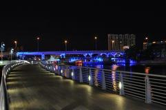Красочные мосты Стоковое Изображение