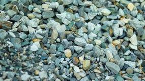Красочные небольшие части камня стоковое изображение rf
