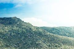 Красочные нежные холмы стоковое фото rf