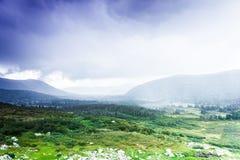 Красочные нежные холмы стоковые изображения