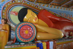 Красочные лож boeddha Стоковая Фотография