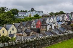 Красочные дома в Cobh Стоковая Фотография RF