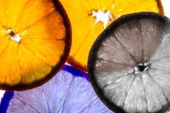 Красочные оранжевые куски стоковое фото rf