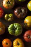 Красочные органические томаты Heirloom Стоковое Изображение RF