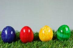 Красочные пасхальные яйца Стоковые Фото