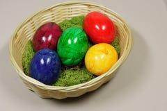 Красочные пасхальные яйца Стоковое Изображение