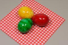 Красочные пасхальные яйца Стоковое Фото
