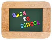 Красочные письма с назад к школе Стоковая Фотография RF