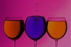 Красочные пить Стоковая Фотография