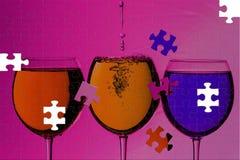 Красочные пить Стоковое Изображение