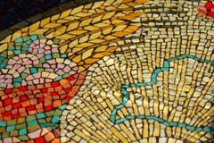 Красочные плитки мозаики текстура и предпосылка стоковые фото