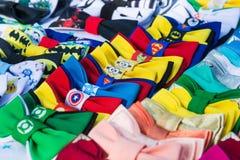 Красочные поводы супергероя бабочек для продажи Стоковые Фотографии RF