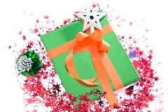 Красочные подарочные коробки красивые Изолированная белая предпосылка Стоковые Изображения