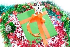 Красочные подарочные коробки красивые Изолированная белая предпосылка Стоковое Изображение RF
