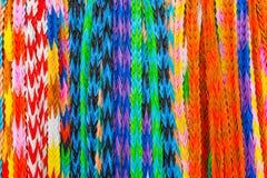 Красочные птицы Origami, вися multi искусство бумаги цвета конструировали I Стоковые Фотографии RF