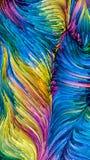 Красочные пути краски стоковое фото rf