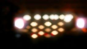 Красочные расплывчатые света видеоматериал