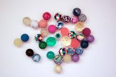 Красочные резиновые шарики Стоковое Изображение RF