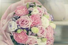 Красочные розы предпосылка разносторонности, малая глубина поля Стоковые Фотографии RF