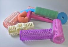 Красочные ролики волос Стоковые Фотографии RF