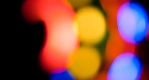 Красочные света конспекта предпосылки Стоковое Фото