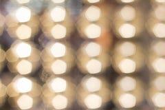 Красочные света на красной предпосылке Bokeh праздника абстрактное рождество Стоковое фото RF