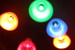 Красочные света на потолке Стоковое Изображение RF