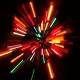 Красочные света Стоковые Фотографии RF