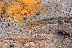 Красочные сорванные старые плакаты как абстрактное grungy текстурированное backgroun Стоковое фото RF