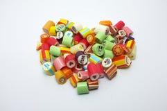 Красочные сортированные конфеты Стоковые Изображения RF