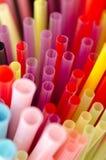 Красочные соломы Стоковое фото RF