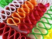 Красочные, старомодные конфеты ленты стоковая фотография