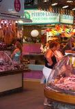Красочные стойлы рынка Стоковые Изображения RF