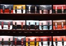 Красочные сумки satchel Стоковая Фотография