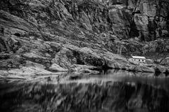 Красочные сцены горы в Норвегии Красивый ландшафт Норвегии, Скандинавии Ландшафт горы Норвегии Стоковое фото RF