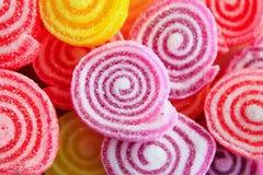 Красочные сладостные конфеты студня Стоковые Изображения