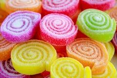 Красочные сладостные конфеты студня Стоковое Фото