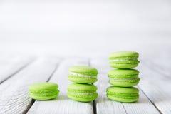 красочные сладостные macaroons Стоковое Изображение