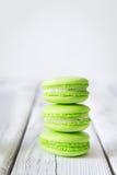красочные сладостные macaroons Стоковые Фото