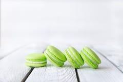 красочные сладостные macaroons Стоковые Изображения