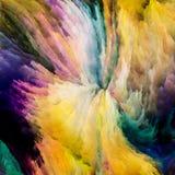 Красочные технологии краски Стоковое Изображение