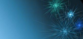 Красочные фейерверки праздника на предпосылке ночи Новый Год китайца предпосылки E Стоковое Изображение