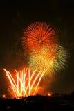 Красочные фейерверки Стоковая Фотография RF