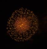 Красочные фейерверки Стоковое Изображение