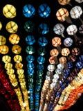 Красочные фонарики смертной казни через повешение Стоковое Изображение RF