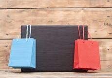 Красочные хозяйственные сумки Стоковые Изображения RF