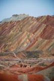 Красочные холмы Стоковые Изображения
