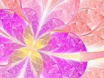 Красочные цветок или бабочка Стоковые Фотографии RF